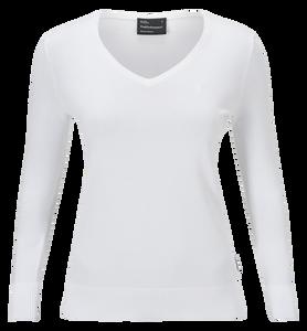 Damen Golf V-Ausschnitt Pullover