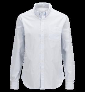 Erik button-down-skjorta i poplin för herrar