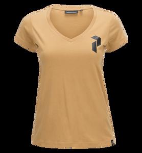 Shell v-ringad tröja för damer