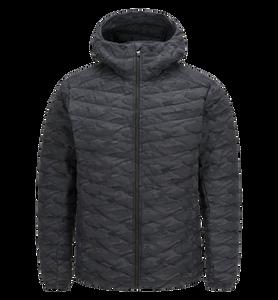 Men's Frost Down Hooded Camo Jacket