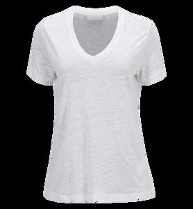 V-halsad t-shirt för damer