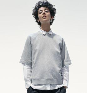 Original rundringad tröja med korta ärmar