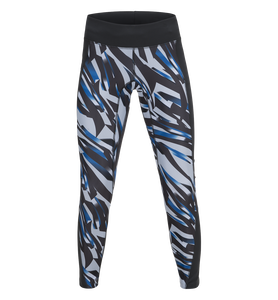 Women's Block Running Printed Tights