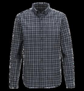 Men's Eric button-down Percard Chequered Shirt