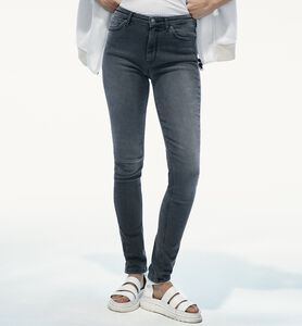 Jeans gris stretch pour femmes Awa