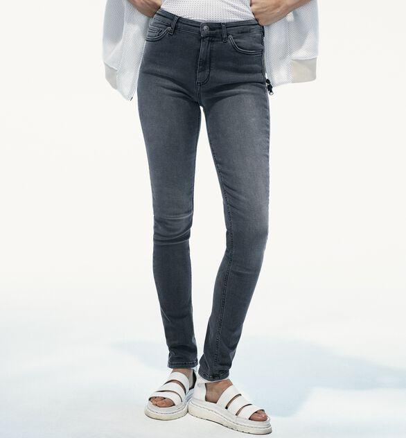 Women's Awa Grey Stretch Jeans