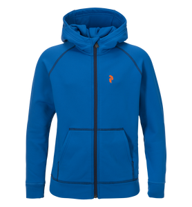 Junior's Spikey Zipped Hooded Mid-Layer