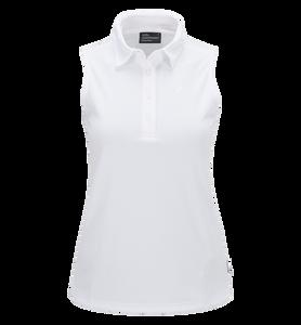 Women's Golf Button-down Sleeveless Top