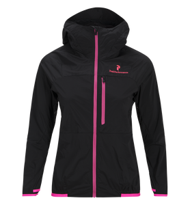 Women's Black Light Wind Jacket