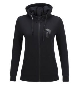Women's Zero Zipped Hooded Sweater