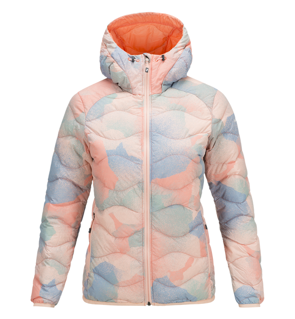 Women's Helium Hood Printed Jacket