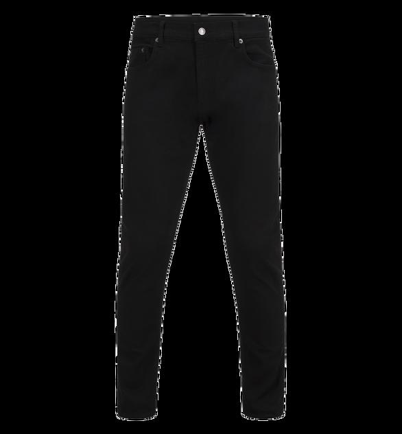 Bob svarta jeans för herrar