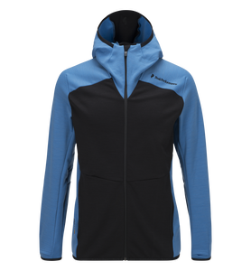 Men's Heli Hooded Zipped Mid-Layer