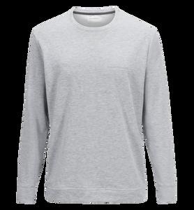 Structure rundringad tröja för herrar