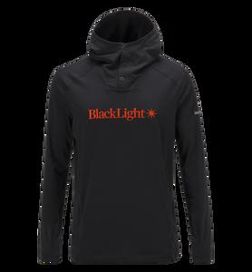 Black Light jacka med huva för herrar