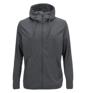 Mens Structure Zipped Hooded Sweater