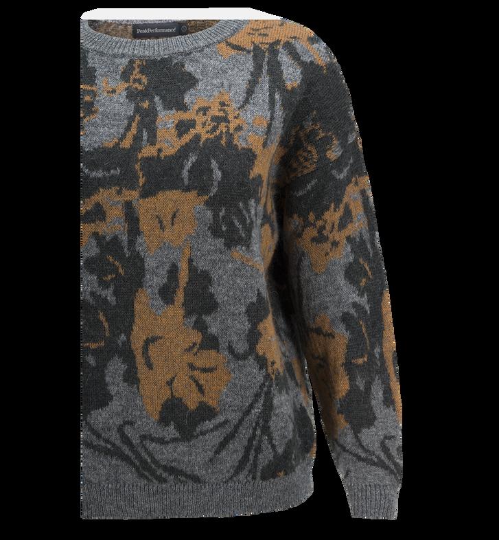 Fleur tröja med mönster för damer