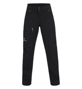 Women's Black Light Softshell Pants