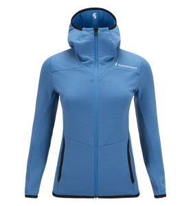 Women's Heli Hooded Zipped Mid-Layer