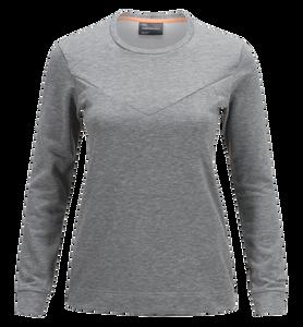 Structure rundringad tröja för damer