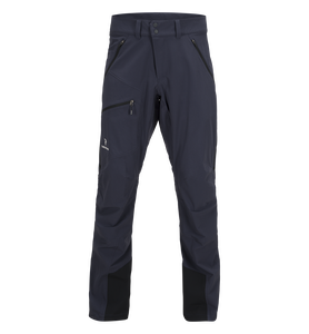 Men's Black Light Softshell Pants