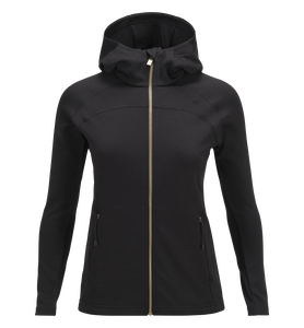 Women's Fort Hooded Zipped Mid-Layer
