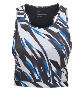 Women's Cropped Printed Top