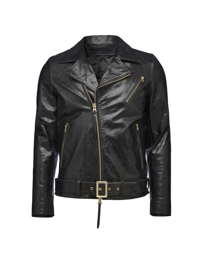 Hellish leather jacket