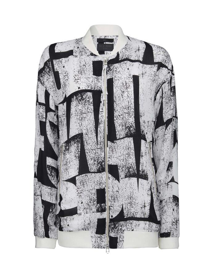 Winner print jacket