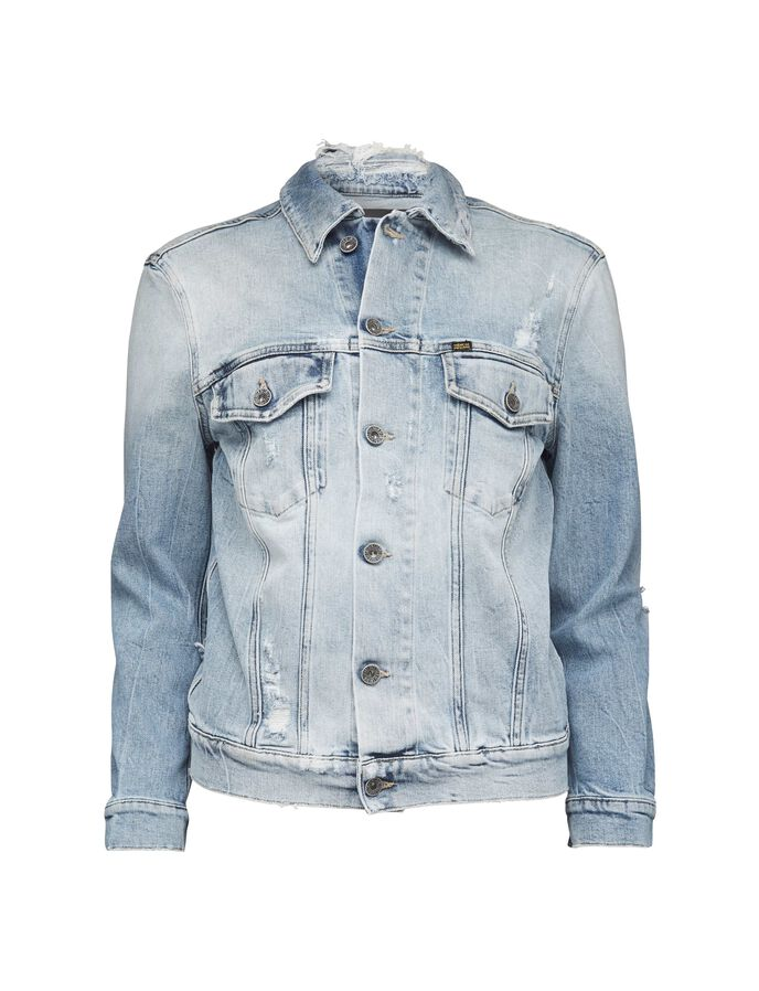 Primed denim jacket