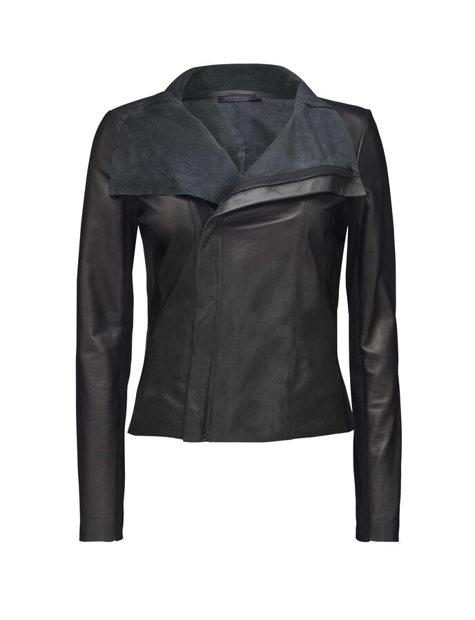 Uma leather jacket