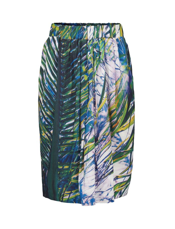 Pura print skirt
