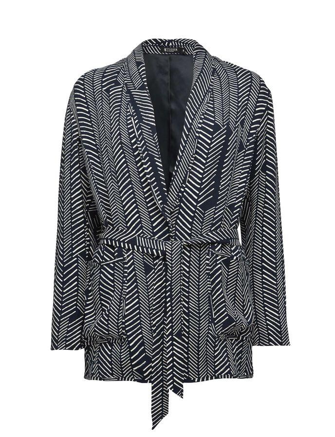 Brid printed blazer