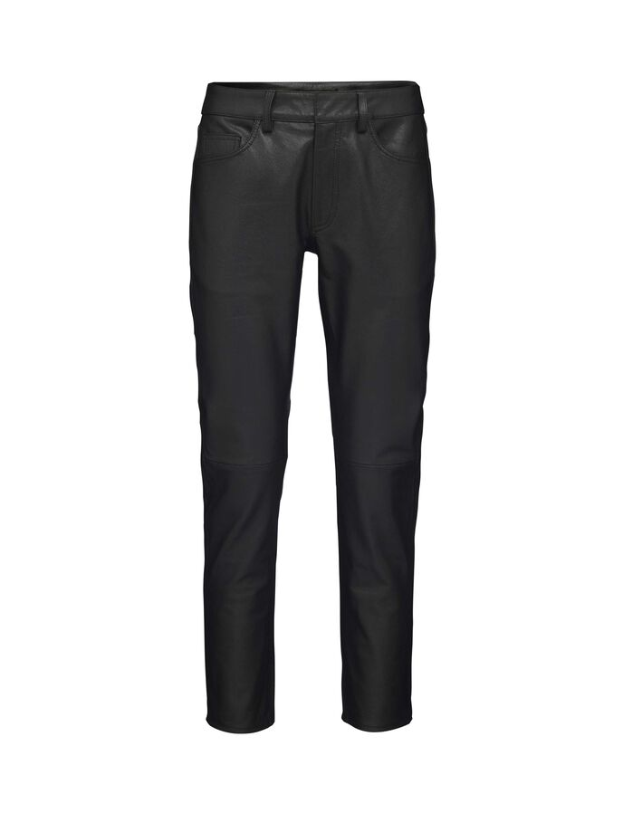Blade leather trousers