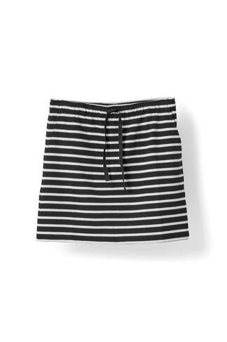 Old Spice Jersey Skirt, Black/Vanilla Ice, hi-res