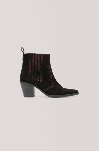 Clemence Ankle Boots, Black, hi-res