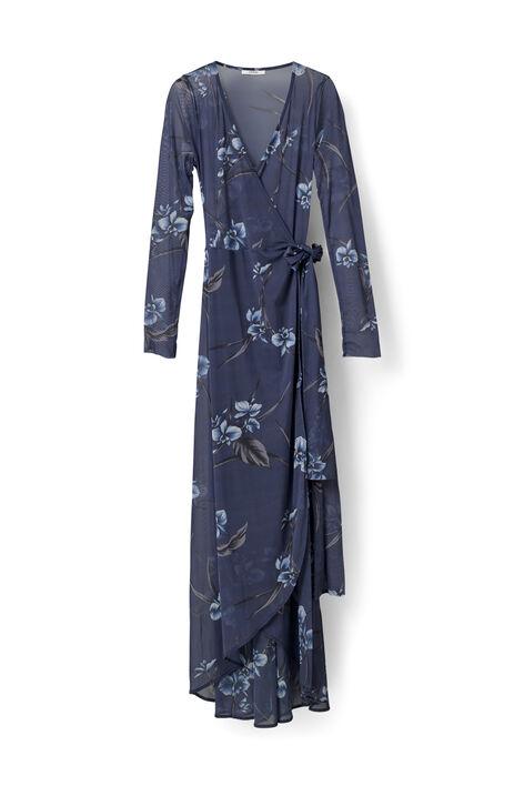 Etsu Mesh Dress, Iris Orchid, hi-res