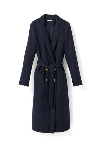 Hawthorne Wool Coat, Total Eclipse, hi-res