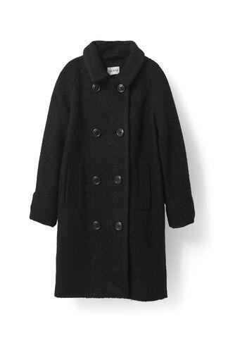 Fenn Coat, Black, hi-res