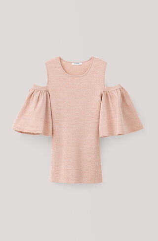 Romilly Top, Cloud Pink, hi-res