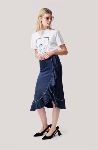 Moulin T-shirt, Bonheur, Bright White, hi-res