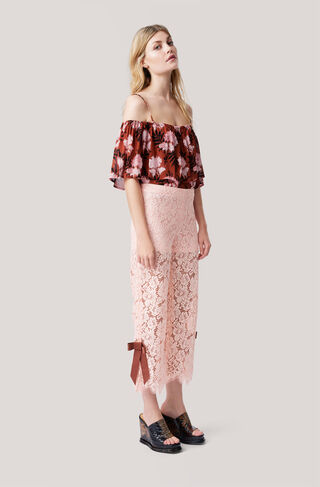 Duval Lace Pants, Cloud Pink, hi-res