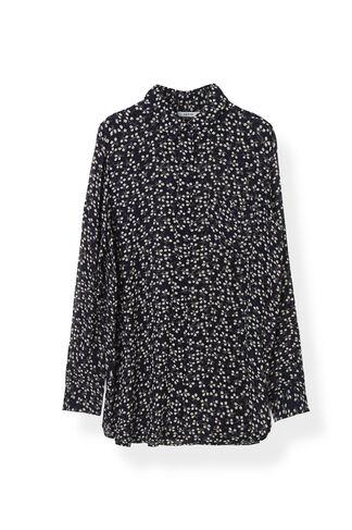 Newman Georgette Shirt, Total Eclipse, hi-res