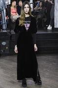 Hayden Velvet Dress, Black, hi-res