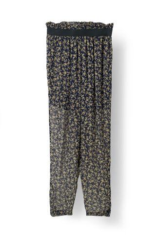 Bartlett Georgette Pants, Eclipse Miniature Roses, hi-res