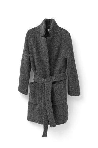 Fenn Wrap Coat, Smoked Pearl Melange, hi-res