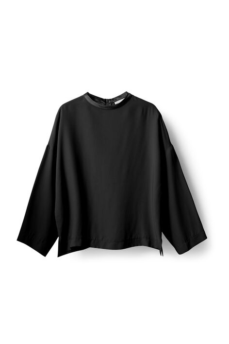 Kamiko Blouse, Black, hi-res
