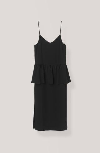 Clark Slip Dress, Black, hi-res