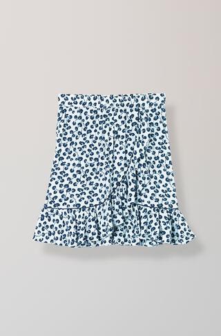 Emory Crepe Skirt, Pearl Blue, hi-res