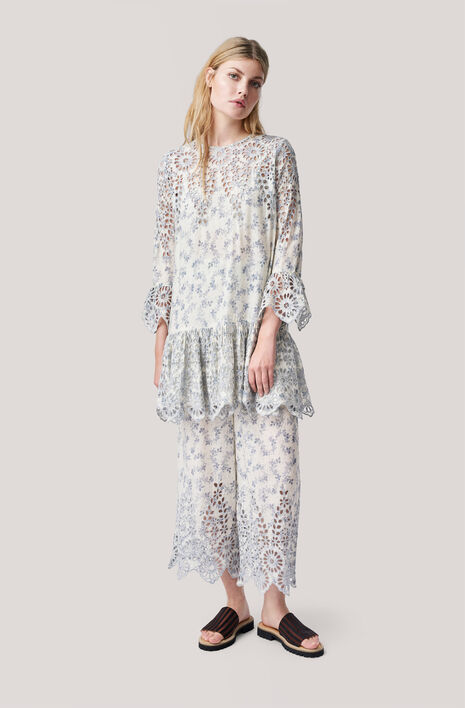 Emile Lace Dress, Vanilla Ice, hi-res